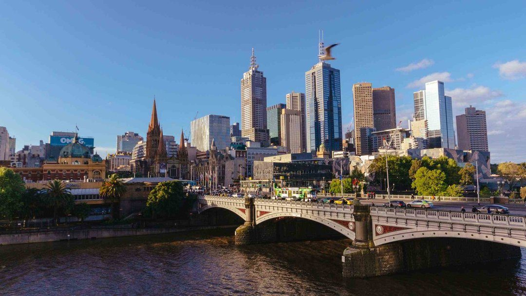 Melbourne City And River2